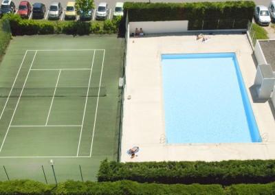Piscine et Tennis