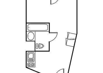 Plan Bissy 1 - 25 m² ou 30 m²